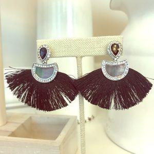 Fanfare earrings